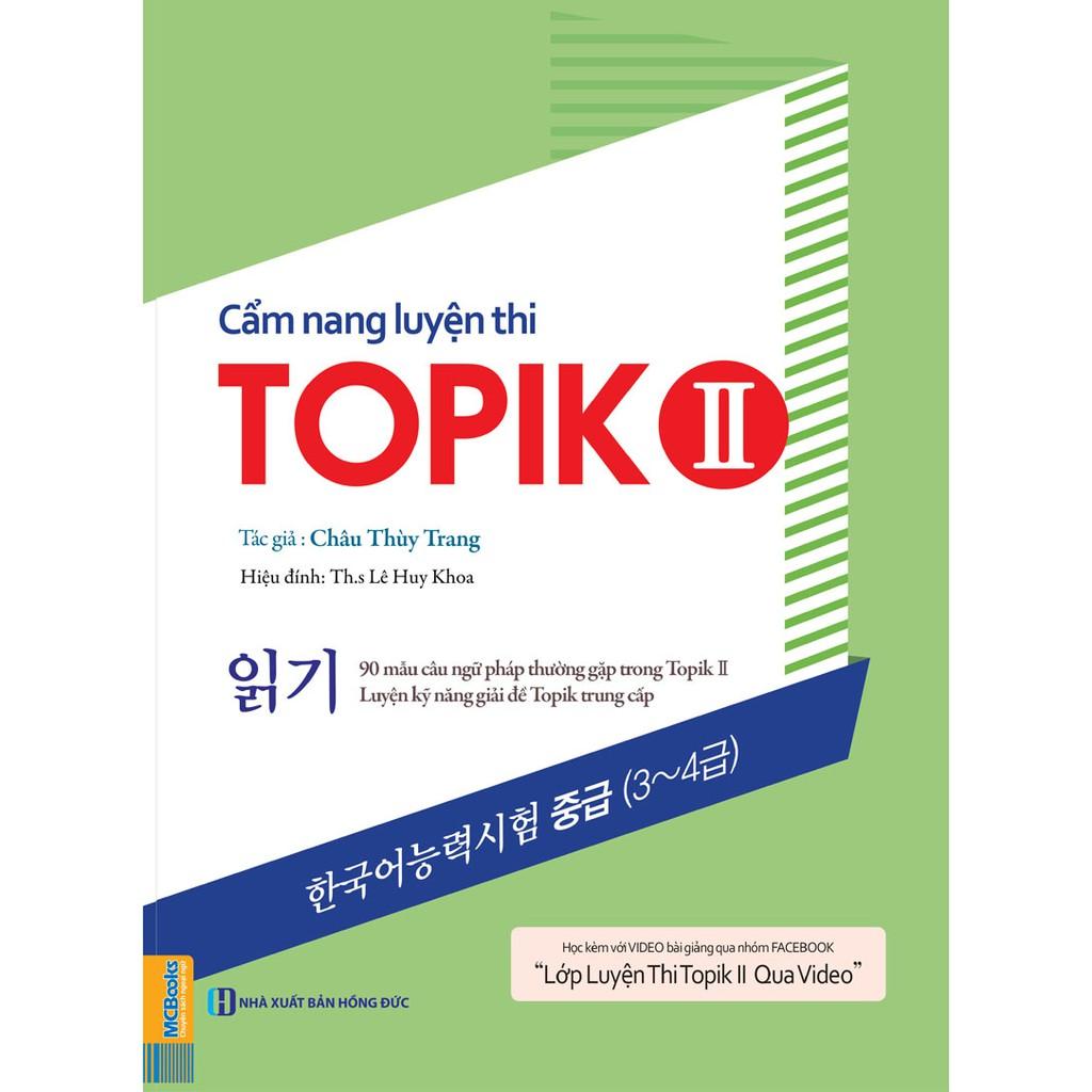 Sách Cẩm Nang Luyện Thi Topik II (Kỹ Năng Đọc)