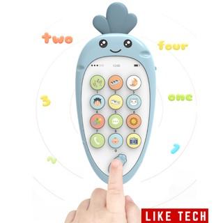 [Mã TOYOCT hoàn 20K xu đơn 50K] Điện thoại đồ chơi trẻ em giúp phát triển khả năng âm nhạc cho bé siêu hot 2020