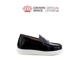 Giày Lười Loafer Bé Trai Đẹp CrownUK George Louis Moccasin Trẻ em Nam Cao Cấp CRUK436 - CRUK437 Nhẹ Size 26-31 2-12 Tuổi thumbnail