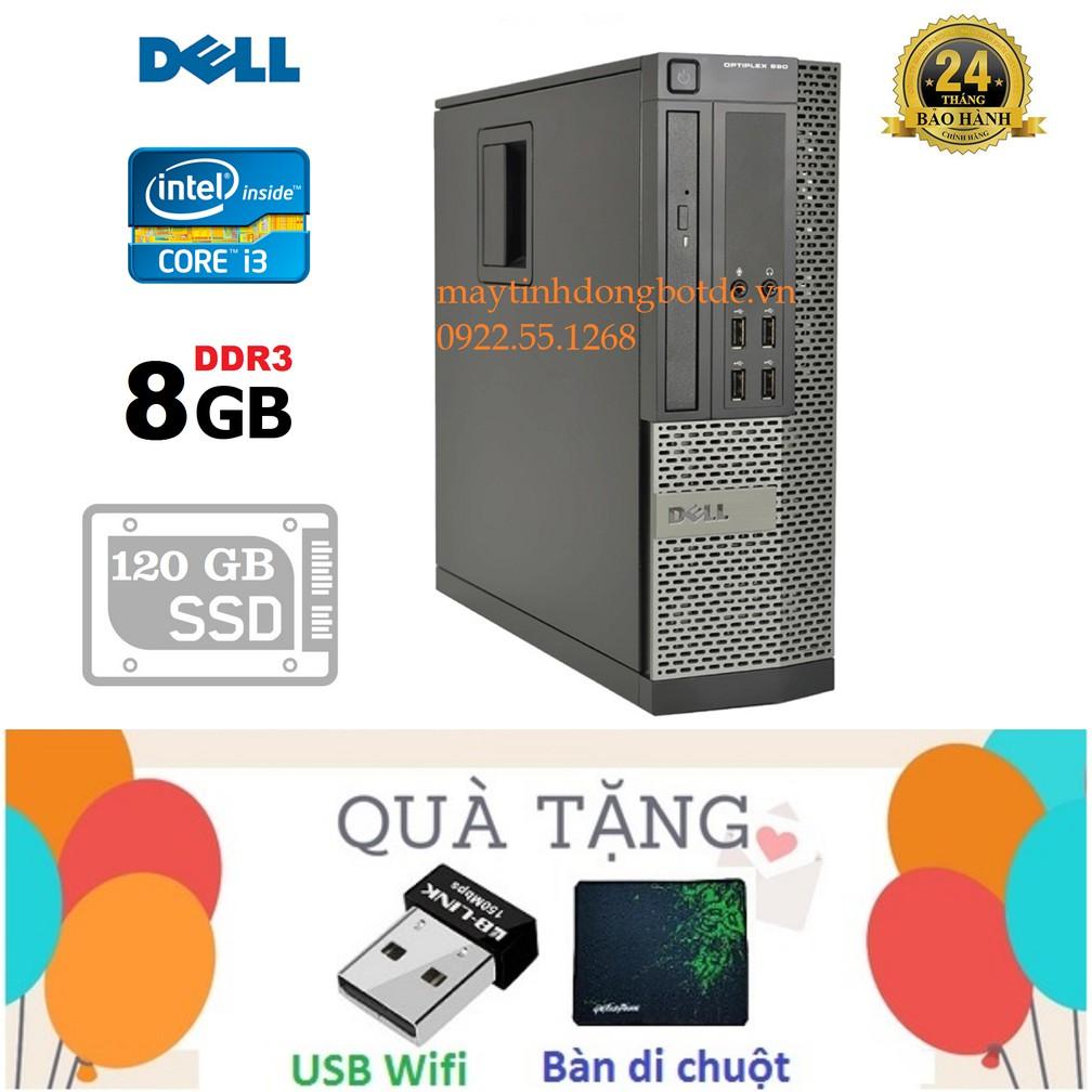Thùng CPU Dell optiplex 990 (Core i3 2100/ ram 8gb/ ssd 120gb)Tặng chuột không dây, bàn di chuột, Bảo hành 24 tháng Giá chỉ 2.747.000₫