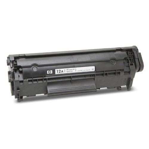Mực in  12A  dùng cho máy in HP Laserjet 1010/Canon 2900 ( Có lỗ đổ mực và đổ thải )
