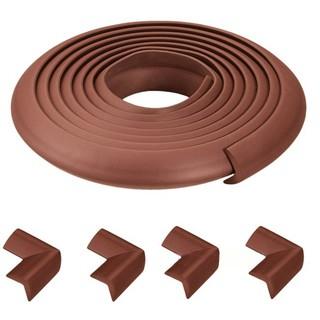 Bịt góc bàn bằng xốp 4 miếng và 2m dây, bịt cạnh góc bàn, bịt góc bàn an toàn cho bé