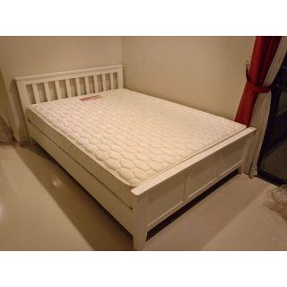 Giường ngủ gỗ thông 1m6x2m, gỗ thông nhập khẩu,