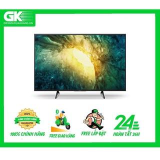 55X7500H - MIỄN PHÍ CÔNG LẮP ĐẶT - Android Tivi Sony 4K 55 inch KD-55X7500H Mới 2020 thumbnail