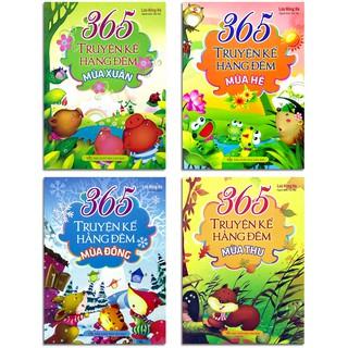 Sách - 365 Truyện Kể Hằng Đêm (Bộ 4 quyển, lẻ tùy chọn)