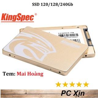 [Mã 158ELSALE hoàn 7% đơn 300K] SSD Kingspec 120GB / 128GB / 240GB P4-120 2.5 Sata III- Bảo Hành 36 Tháng
