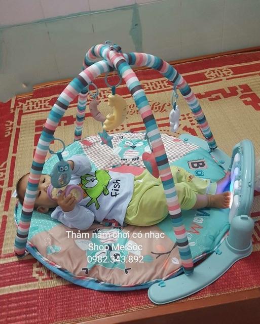 Thảm nhạc Baby Gym Music có điều khiển cho bé