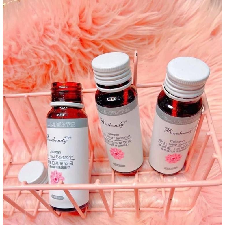 COLLAGEN YẾN TRẮNG HỒNG RẠNG RỠ ROSE BEAUTY Bird's Nest Beverage CHÍNH HÃNG 100%