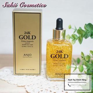 Serum Tinh Chất Vàng 24K GOLD ANJO Trắng Da Chống Lão Hoá Da thumbnail