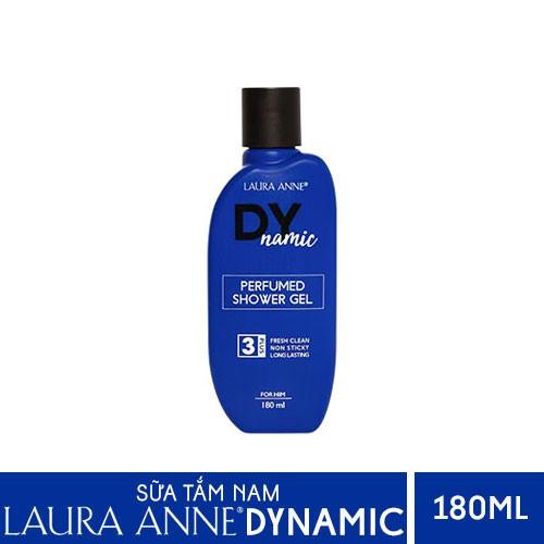 Sữa Tắm Nước Hoa Nam Laura Anne Dynamic 180ml chính hãng