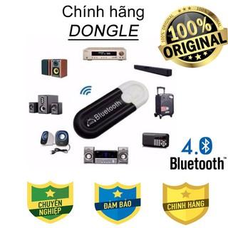 Usb Bluetooth HJX001 Chính hãng Dongle V4.0, biến loa, amly thường thành loa Bluetooth