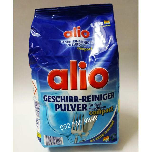 Bột rửa chén bát Alio 1.8kg nhập từ Đức( Mùi dễ chịu)