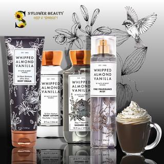 FALL 2020 Whipped Almond Vanilla Bộ Sản Phẩm Gel Tắm - Dưỡng Thể - Xịt Thơm Toàn Thân Bath & Body Works Body Care thumbnail