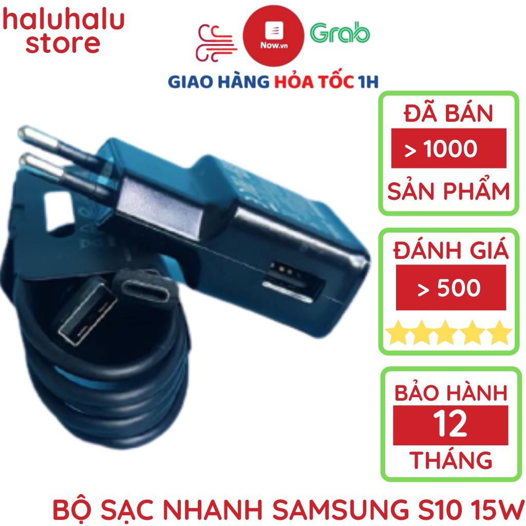 Củ sạc nhanh Samsung S10 chính hãng Note 8/Note 8+ chân type c S10+ S10e Note 9 Note FE S9 S8