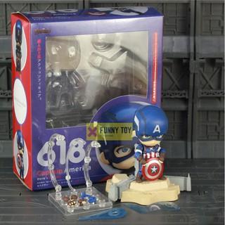 Mô hình Nendoroid 618 Captain America