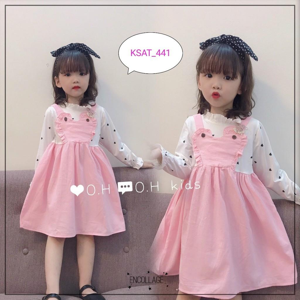 Váy 3 màu đáng yêu cho bé gái