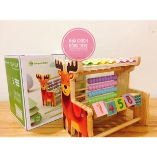 Đồ chơi gỗ 3in1 cho bé từ 1,5 tuổi – goryeo baby