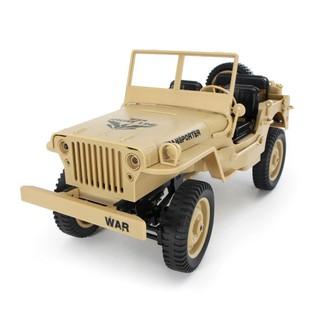 Xe ô tô điều khiển JJRC Q65 – Jeep Transporter 4×4 tỉ lệ 1:10 (Màu vàng cát)