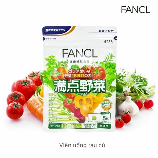 [Có sẵn] Viên rau củ Fancl