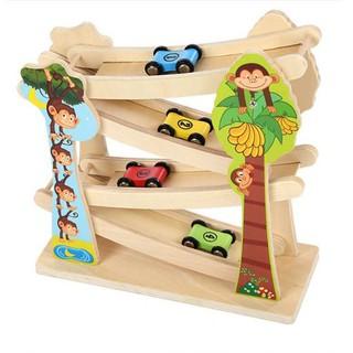 Cầu trượt ô tô 4 tầng
