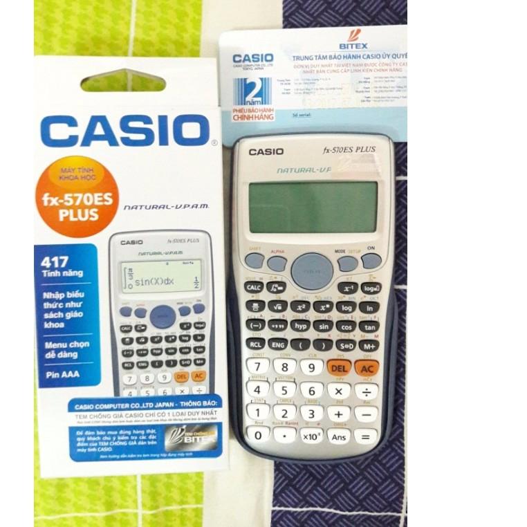 Máy tính casio FX-570es plus có tem và bảo hành BITEX - 2661591 , 123870392 , 322_123870392 , 320000 , May-tinh-casio-FX-570es-plus-co-tem-va-bao-hanh-BITEX-322_123870392 , shopee.vn , Máy tính casio FX-570es plus có tem và bảo hành BITEX
