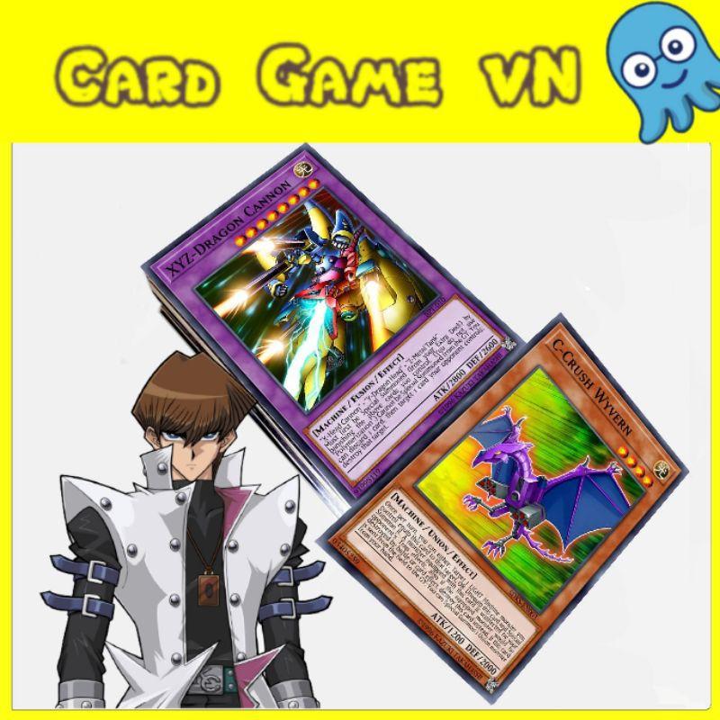 [BÀI IN] Bài YuGiOh – Bộ 54 lá bài Structure Deck của Kaiba Seto – ABC, XYZ Monster – Card Game VN
