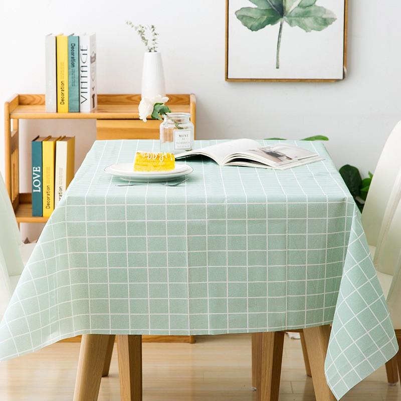 Khăn trải bàn caro, nhựa PVC không thấm nước, khăn làm phông nền chụp ảnh, làm thủ công LYANWN