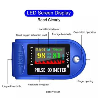 Máy đo huyết áp đeo ngón tay tiện lợi thumbnail