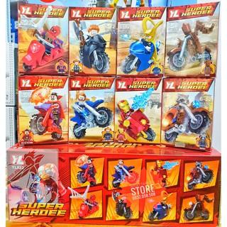 LEGO Minifigures 8 Nhân Vật Avenger 4 ( Hàng có sẵn – Đủ Mẫu )