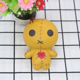 Creative Squishy Slow Rebound Toy Dolls PU Foam Decompression Toy Simulation Scarecrow