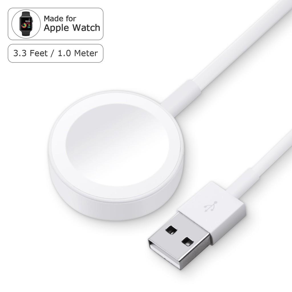 Sạc không dây apple watch series 1-2-3-4-5-6 Hàng tiêu chuẩn apple ( BẢO HÀNH 1 ĐỔI 1 30 NGÀY )