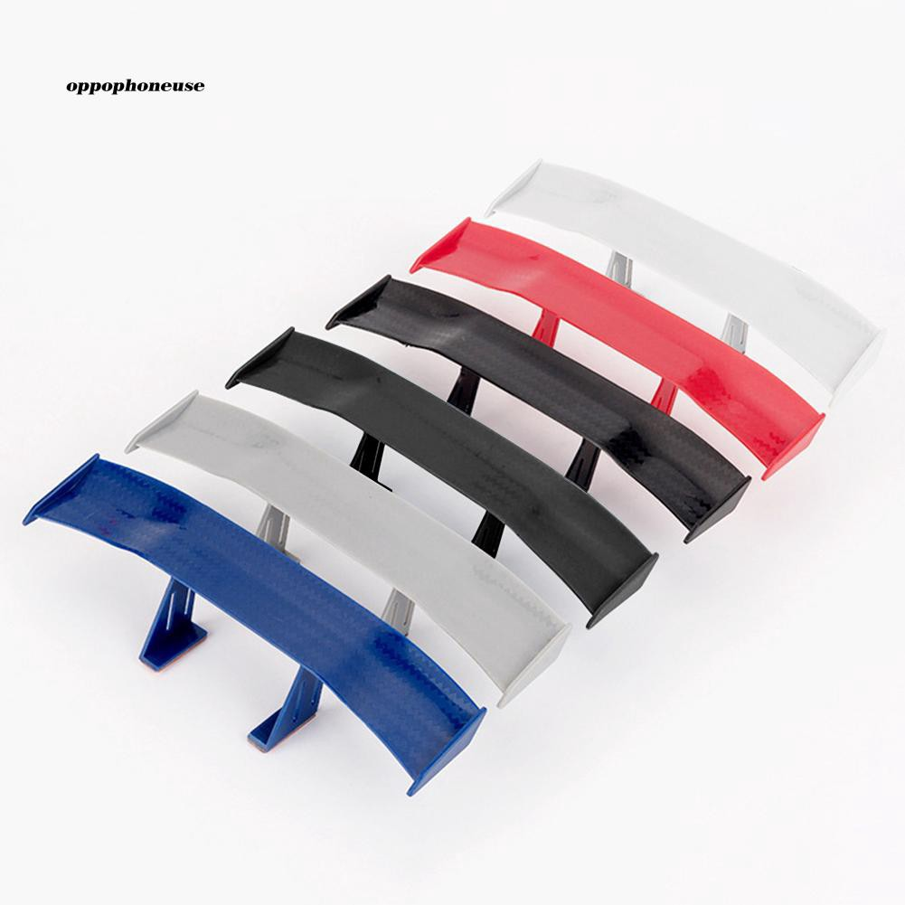 OPHE_Universal Mini Spoiler Wing Auto Car Tail Decoration Car-Styling Adhesive Gift