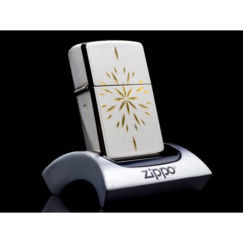 Bật Lửa Zippo La Mã Sparkling Star Gold Inlays XI 1995