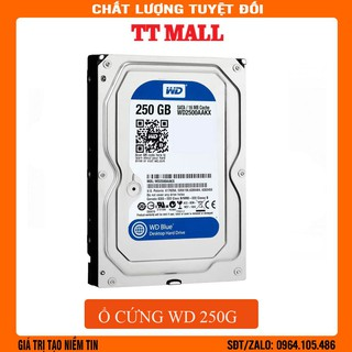Ổ cứng HDD 250G Western