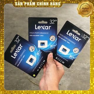 Thẻ Nhớ Lexar Mico SDHC 32Gb Class 10 Chính Hãng Lexar Dùng Điện Thoại Camera Giá Rẻ