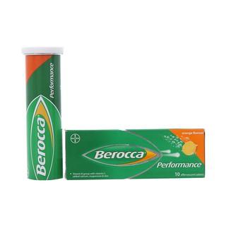 [Hoả Tốc Q10] Viên sủi bổ sung vitamin, khoáng chất Berocca Performance 10 viên