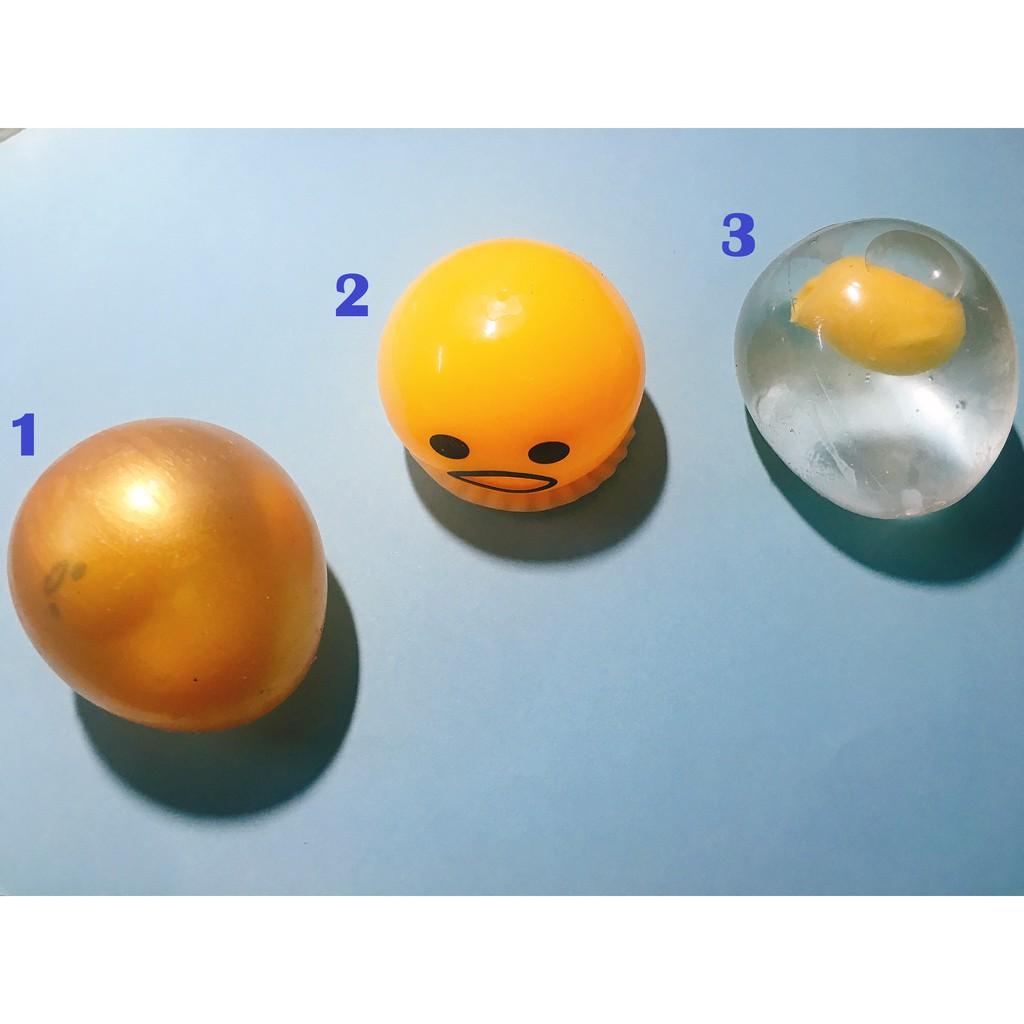 Đồ chơi bóp trứng Gudetama