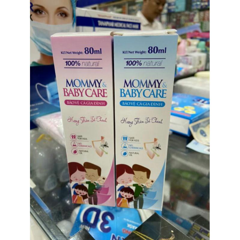 Xịt chống muỗi Mommy & Babycare
