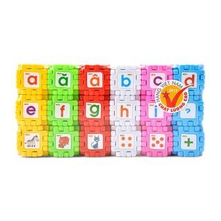 [GIẢM GIÁ] Đồ Chơi Lắp Ghép Hình vuông diệu kỳ – 108 chi tiết-AV01 Antona