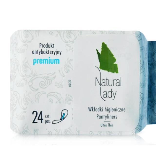 Băng vệ sinh siêu mỏng dùng hàng ngày Natural Lady Pantyliners - Daily 24 miếng