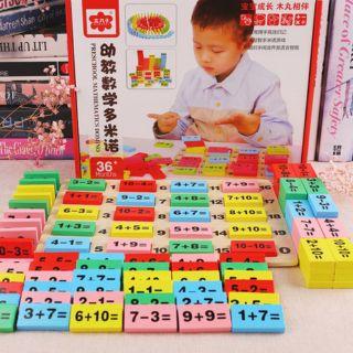 Bộ domino học toán
