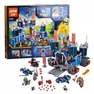 bộ đồ chơi lắp ráp LEGO 70317 LEPIN 14006 – Bộ Lắp Ráp Nexo Knights Lâu Đài Di Động