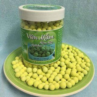 1kg Viên mầm đậu nành hồng sâm - matcha