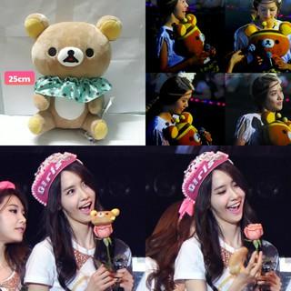Gấu bông Rilakkuma, SNSD Yoona là fan cuồng em này nèeee