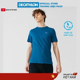 Áo thun thể thao nam DECATHLON run dry chuyên chạy bộ, nhanh khô - xanh petrol thumbnail