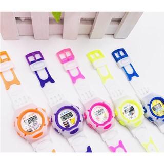 Đồng hồ điện tử trẻ em TIME CLUE Sport hoạt hình ngộ nghĩnh mẫu mới