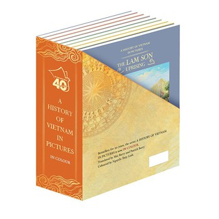 Sách-A history of VN in pictures (In Colour) 8 books Boxset thumbnail