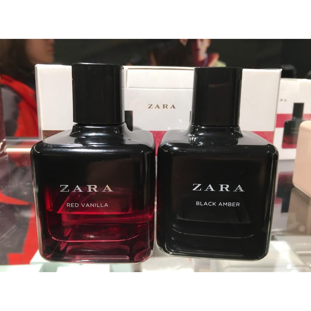 Nước hoa nữ Zara lẻ và set Red Vanilla và Black Amber 100ml/chai | Shopee Việt Nam