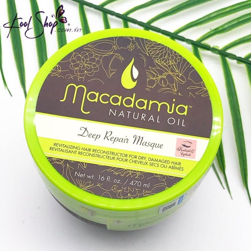 NHẬP KHẨU CHÍNH HÃNG Kem hấp (dầu ủ tóc) Macadamia Deep Repair Masque