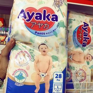 ( đủ size) Bỉm quần AYAKA nutifood size L28 thumbnail